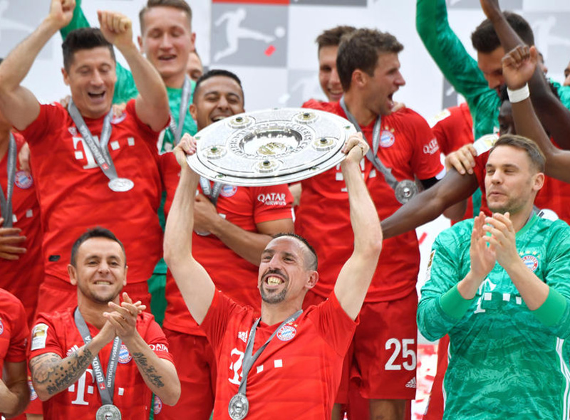 Officiel: Le Bayern Munich champion d'Allemagne
